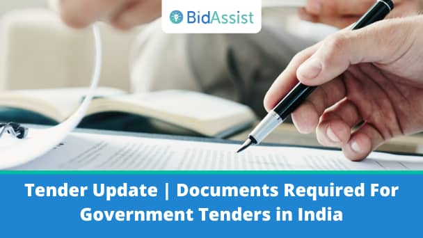 Documents Required For Government Tenders in India