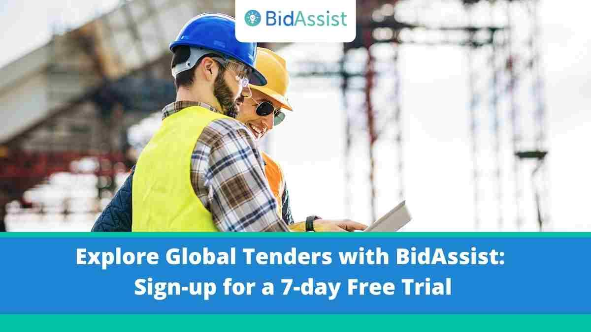 Explore Global Tenders with BidAssist: Sign-up for a 7-day Free Trial