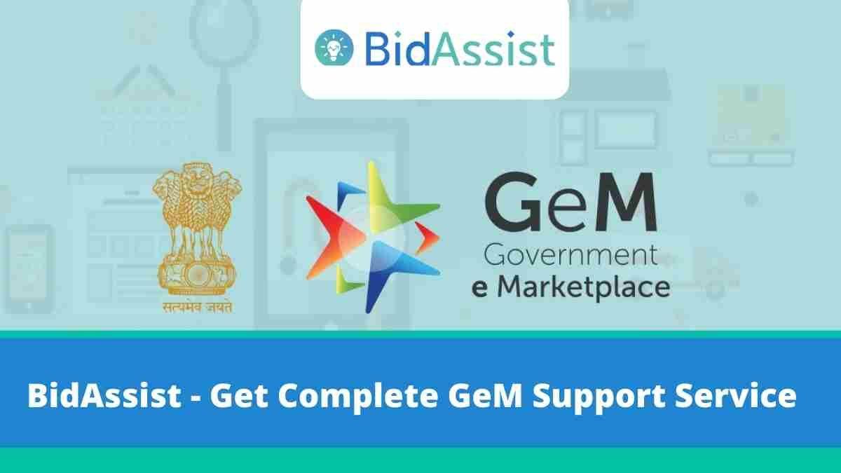 BidAssist - Get Complete GeM Support Service