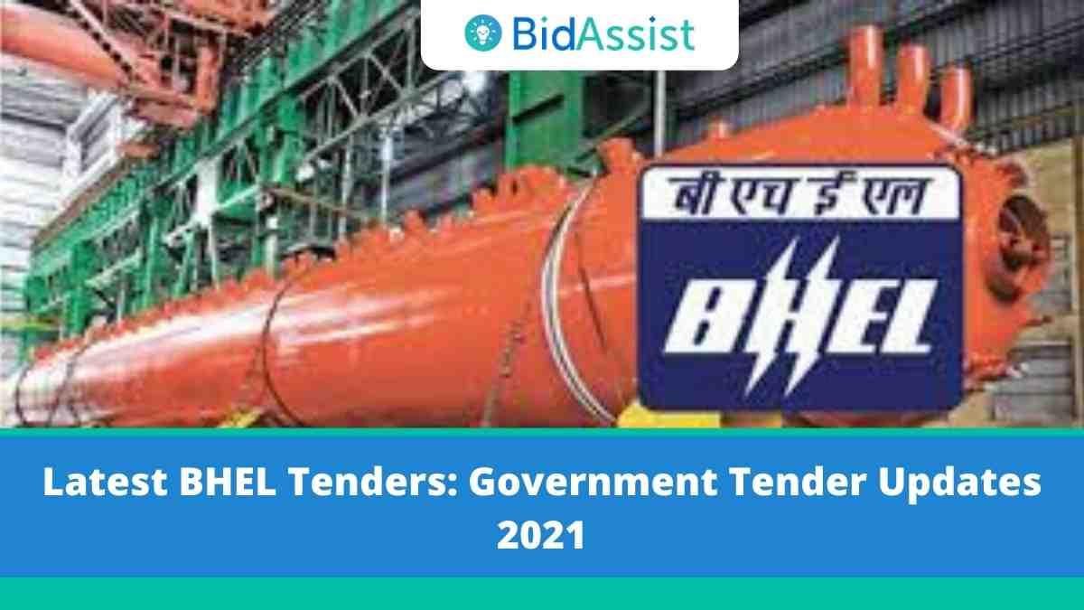 Latest BHEL Tenders: Government Tender Updates 2021