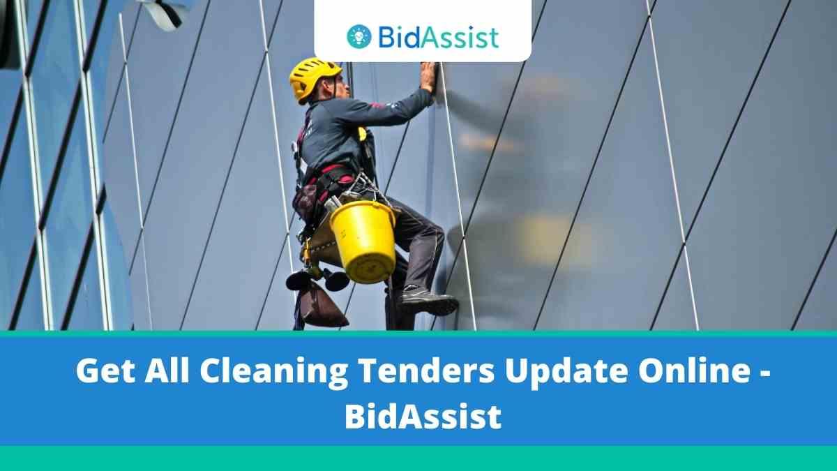 Get All Cleaning Tenders Update Online - BidAssist