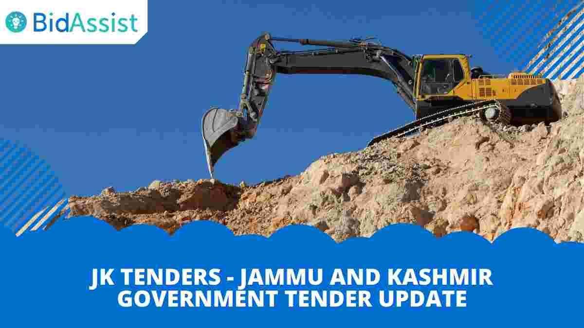JK Tenders - Jammu and Kashmir Government Tender Update