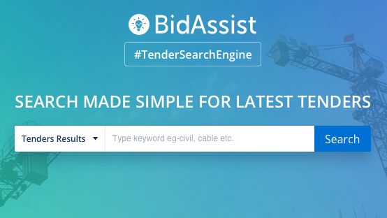 How to Search Tender on BidAssist?